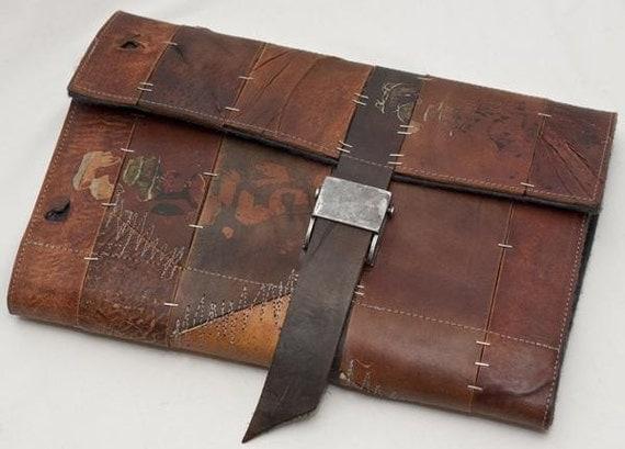 leather mac book case \/\/