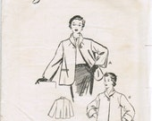 Rare Australian Weigels brand 1950s vintage ladies jacket pattern