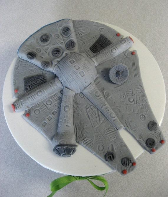 CAKE TOPPER -  Falcon - Edible Birthday, Shower, Wedding