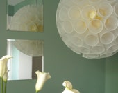 12 inch dia. sustainable chandelier