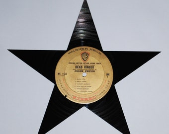DEAD RINGER movie STAR made from vinyl record album