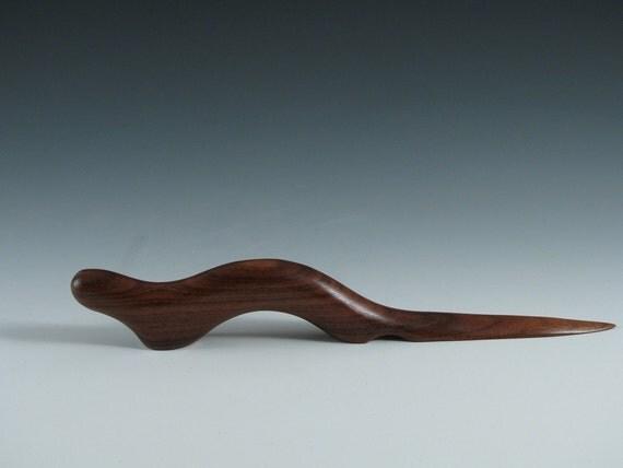 Rosewood Handcarved Letter Opener