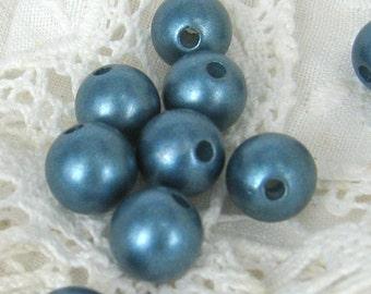 10mm silky acrylic beads- 20 pcs (Bead-160-H)