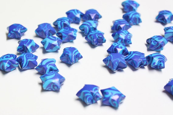 Sea Blue Lucky Stars