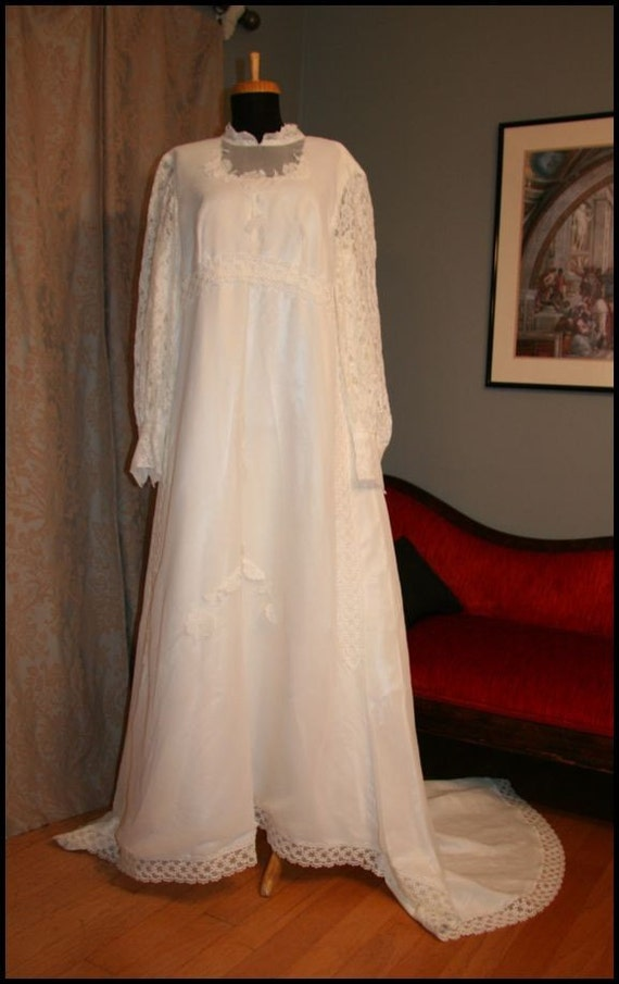 No 118 vintage 1970s wedding dress for 1970s vintage wedding dresses