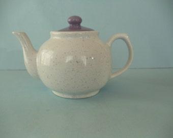 Purple Speckled Teapot
