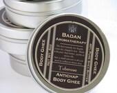 TUBEROSE Body Butter Ghee Natural & Organic - Intensive Moisturizer for Dry Skin