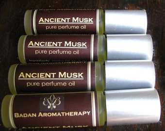Badan Ancient MUSK Pure Perfume Oil - Roll On Perfume Oil