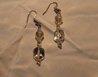 Glass Earrings...SALE...