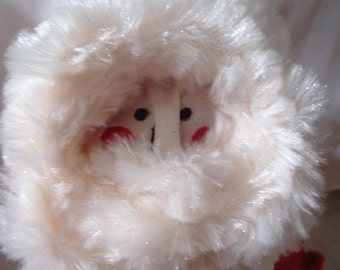 OOAK Cloth Santa Doll