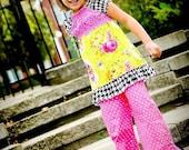 hot pink polka dot ruffle pants sizes 6\/12 mos - 8