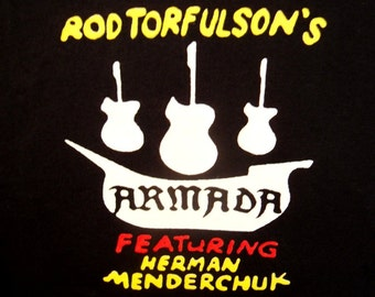 Rod Torfulson's ARMADA featuring Herman Menderchuk tshirt Kids in the Hall