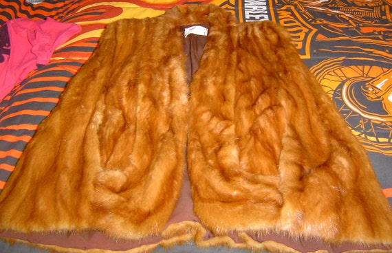 Beautiful Vintage  Fox Fur Cape
