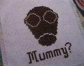 """DW """"Mummy"""" /// cross-stitch pattern"""