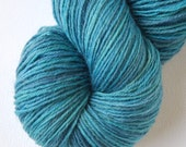 Tidal Pool - SALE - All Sock Yarn 15.00 - Sqwish Cuddle Toes Sock Yarn - 100 grams - 450 yards