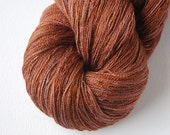 Nutmeg SALE HALF PRICE - Sqwish Luna Lace Yarn - 100 grams - 1000 yards