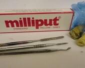 Milliput 2 part epoxy sculpting putty