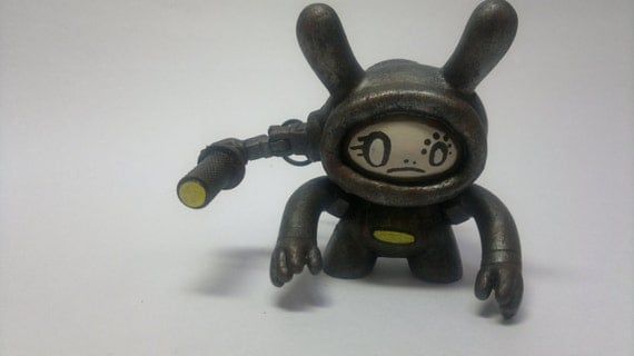 rusted searcher bot open faced edition. Custom dunny