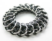 Stretchy Chainmail Bracelet - Interwoven 4 in 1