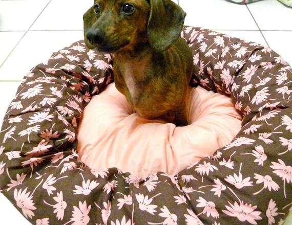Floating Petals Pet Bed