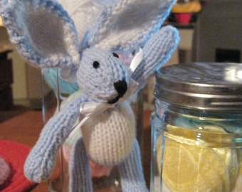 Itty Bitty Bunny 8 Inch Doll   Pattern   Knitted