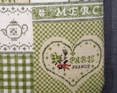 SALE 50% OFF Kindle Padded Sleeve - French Country Sampler