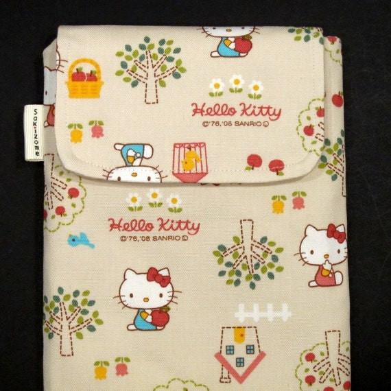 Kindle 3 Case - Hello Kitty  (natural)