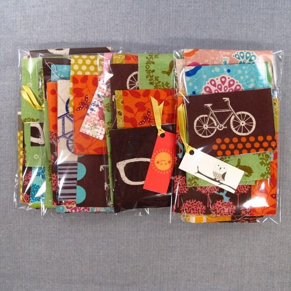 NEW Japanese Echino Fabric Scrap Bag (by Etsuko Furuya)