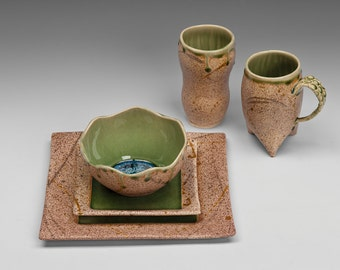 Made to order--Five piece dinner ware set