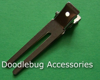 Double Prong Alligator Hair Clips 1 3/4 Inches (45mm) 50 Super STRONG