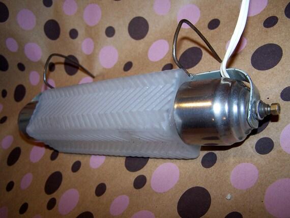 SALE Headboard Lamp Glass Chrome bedroom light Art Deco Design 20% off