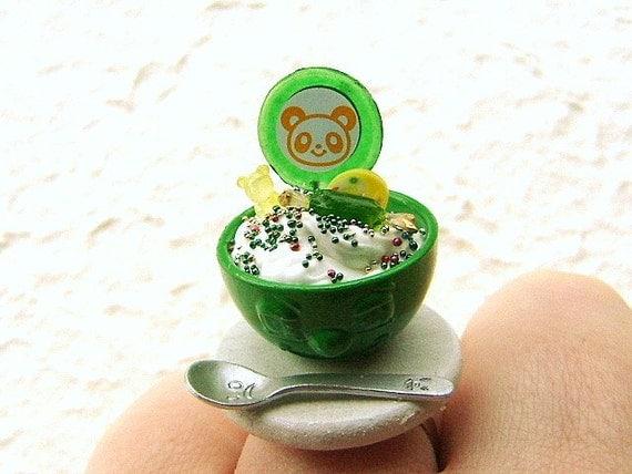 Candy  Bear Sundae  Ring