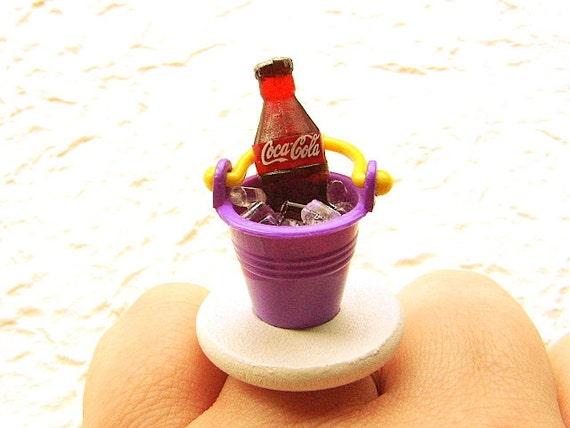 Kawaii Ring Soda  Ice Bucket