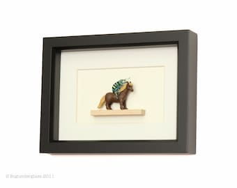 Insect Taxidermy Art Framed Beetle My LIttle Pony