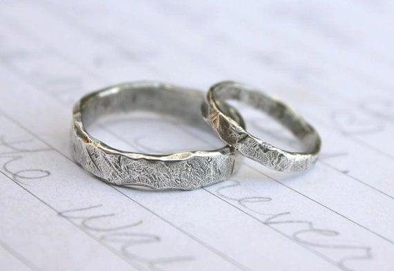 Recycled Silver Wedding Band Ring Set  Custom Rustic Wedding. Brown Diamond Wedding Rings. Nail Wedding Rings. Red Stone Engagement Rings. Indian Engagement Rings. Horizontal Wedding Rings. $50000 Engagement Rings. Flat Wedding Rings. 24kt Gold Wedding Rings