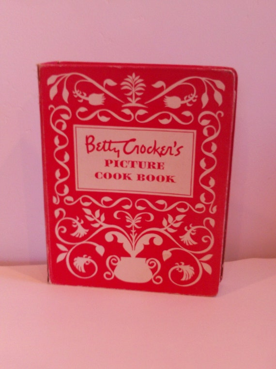 Vintage Betty Crockers Picture Cook Book