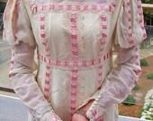 Renaissance Maxi Dress 70s Ren faire beauty size XS