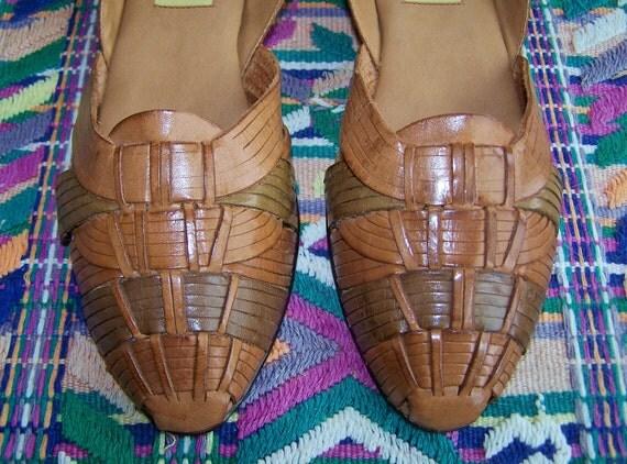 8.5 Huarache Sandal shoes sling back 8.5