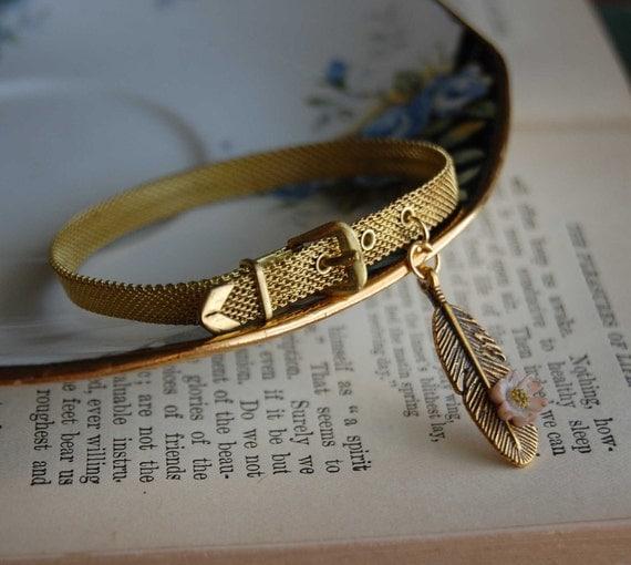Indie Spirit- Vintage Mesh Bracelet