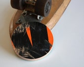 Recycled Skateboard Pocket Mirror-Triangle Skateboard