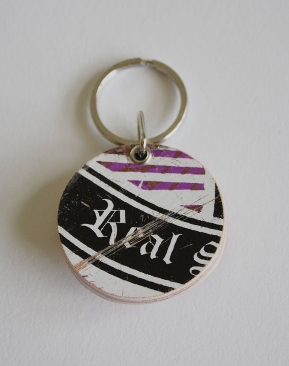 Recycled Skateboard Deep End Keychain-Keeping It Real