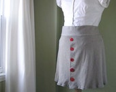 Hello Sailor Recycled Skirt 3x to 4x