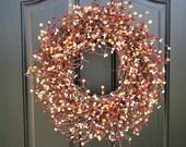 Berry Wreath - Year Round Berry Wreath - Spring Berry Wreath - Wreaths - Door Wreath