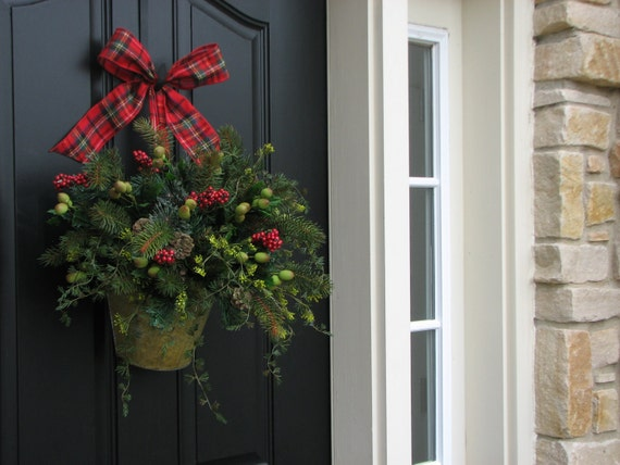 Decorative wreaths home decor country christmas by