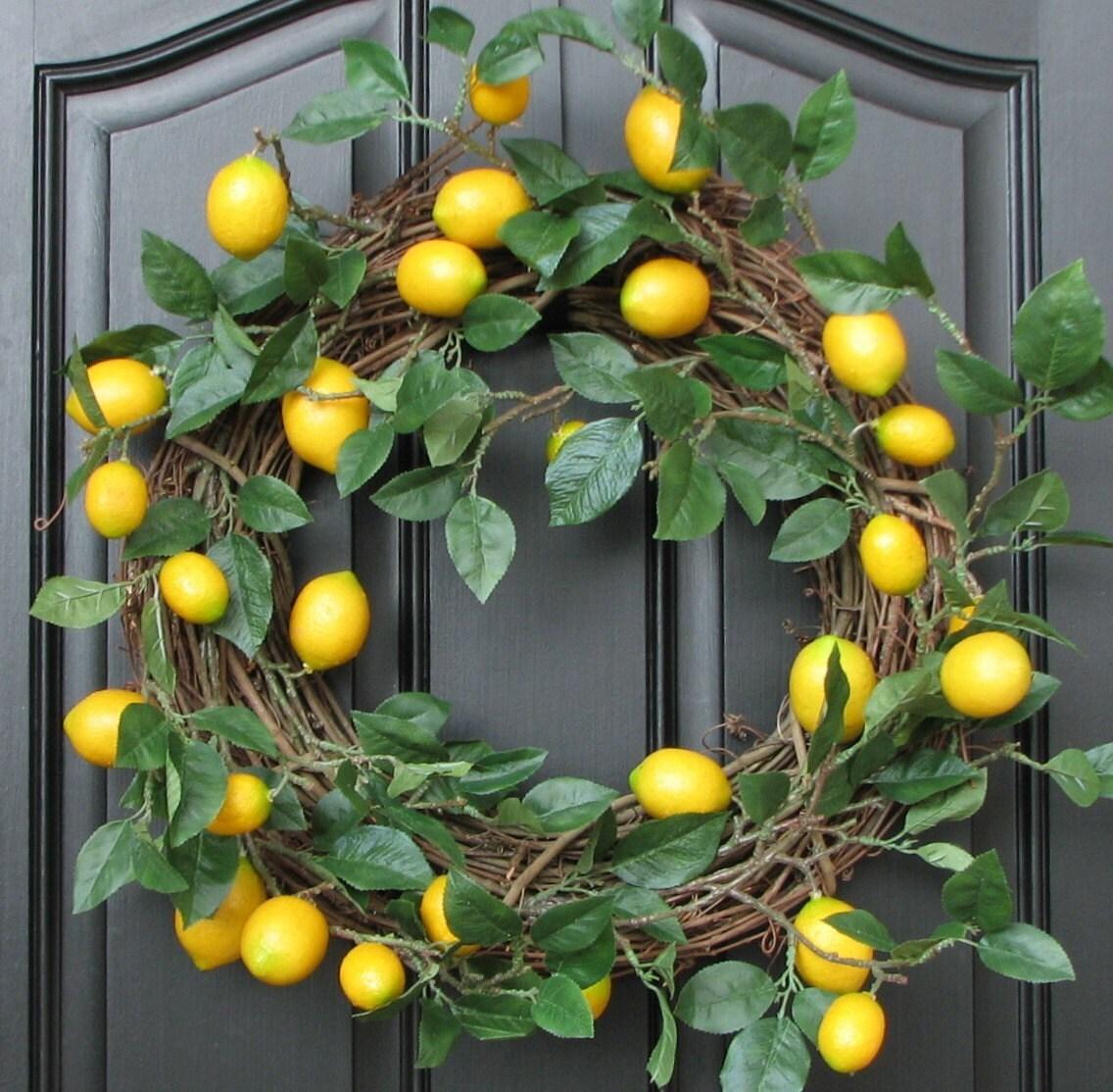 Lemon Wreath