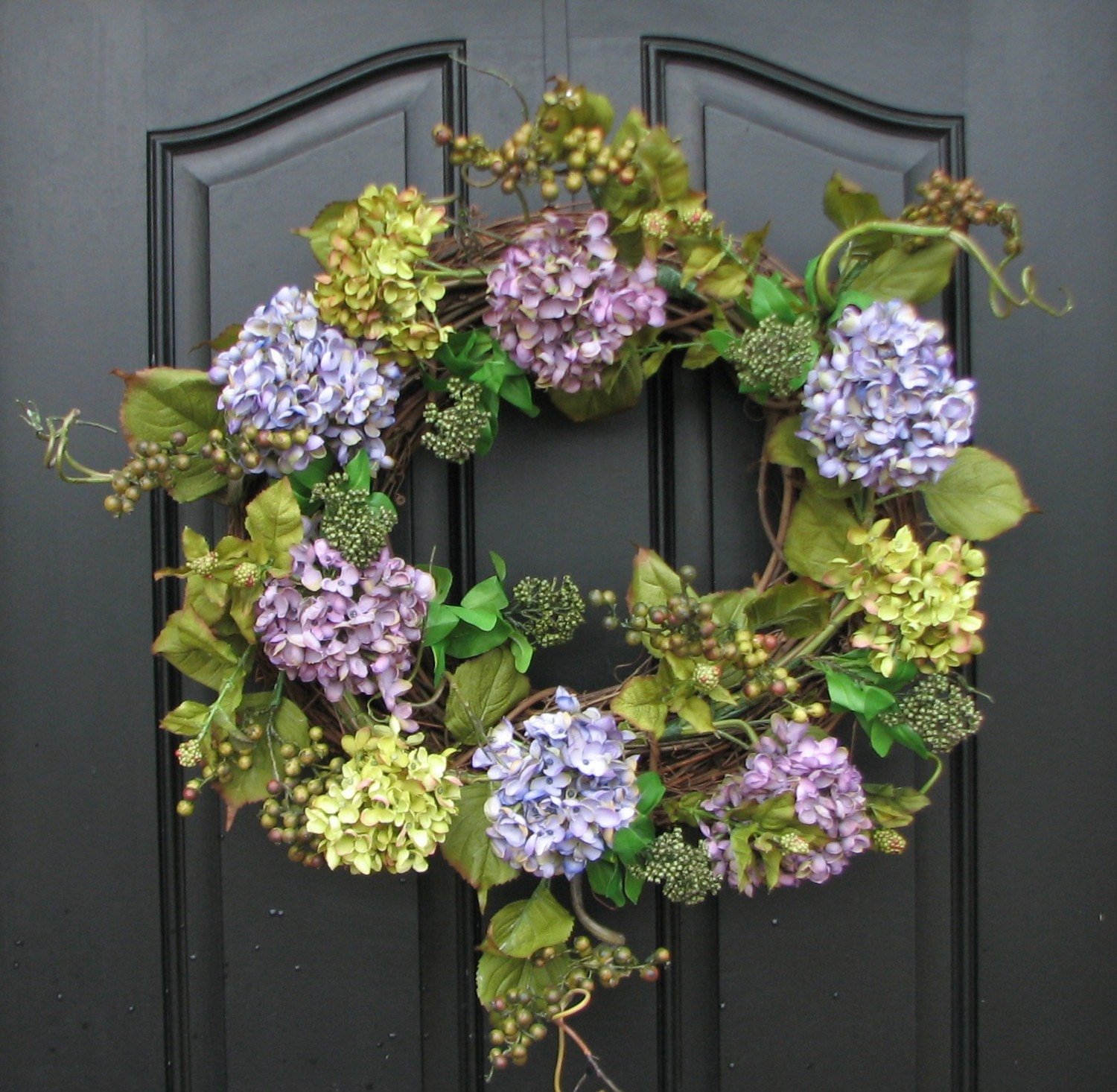 Summer Wreaths Spring Inspiration Wreath Hydrangeas