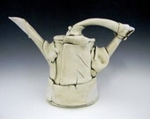 Hand Built Porcelain Watering Can