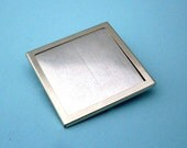 Silver Square Pin Setting Frame Mounting 109ST