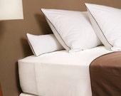 Queen duvet cover - Luxury PERCALE cotton