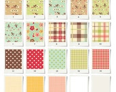 Sample swatch set - Country life collection - FREE SHIPPING
